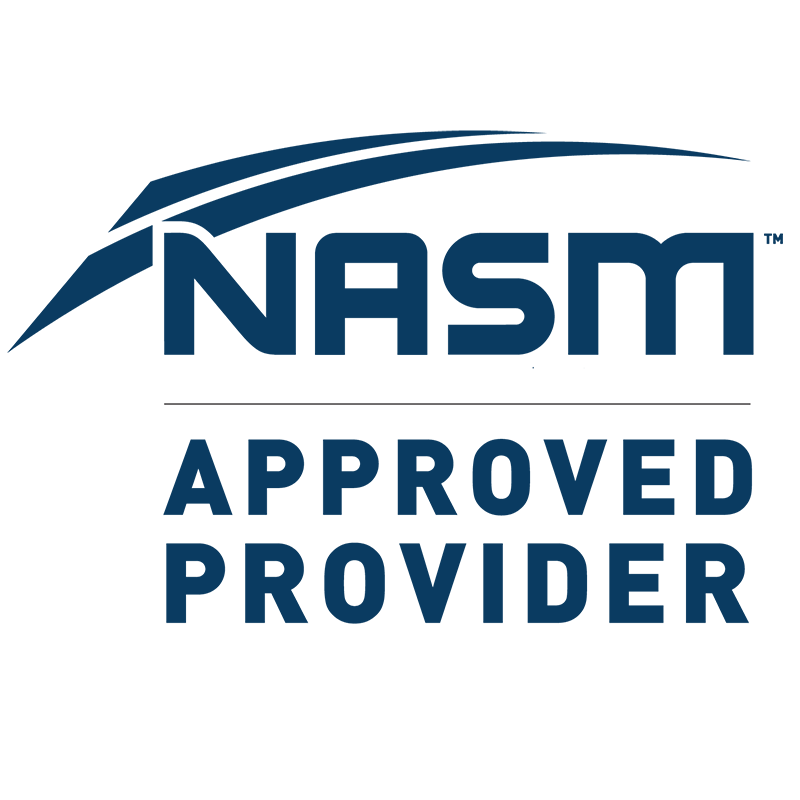Nasm Approved Provider Fitour Fitness Certifications