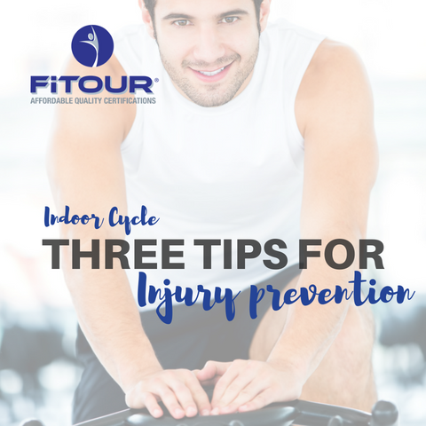 Indoor Cycle: Three Tips for Injury Prevention