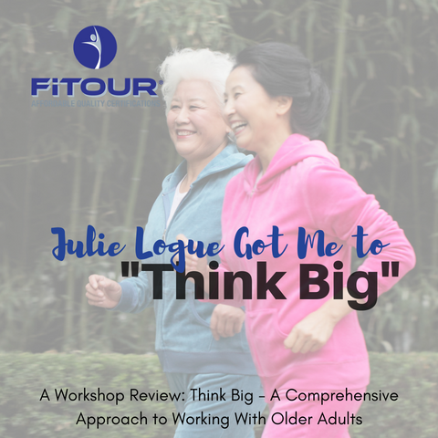 Julie Logue Think Big a Comprehensive Approach to Working with Older Adults
