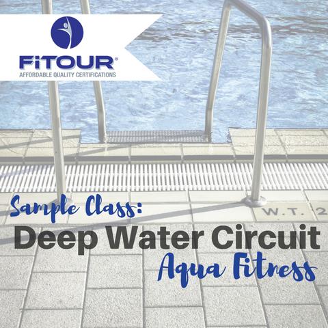 Sample Class: Deep Water Circuit Workout Aqua Fitness