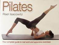 """Book cover """"Pilates"""" by Rael Isacowitz"""