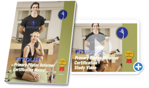 Primary Pilates Reformer Study Manual and Videos
