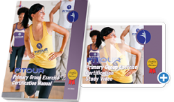 FiTOUR Primary Group Exercise Certification Manual and Study Video