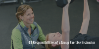 13 Responsibilities of a Group Exercise Instructor