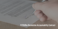 New Year's Resolution Solution: Accountability Contract